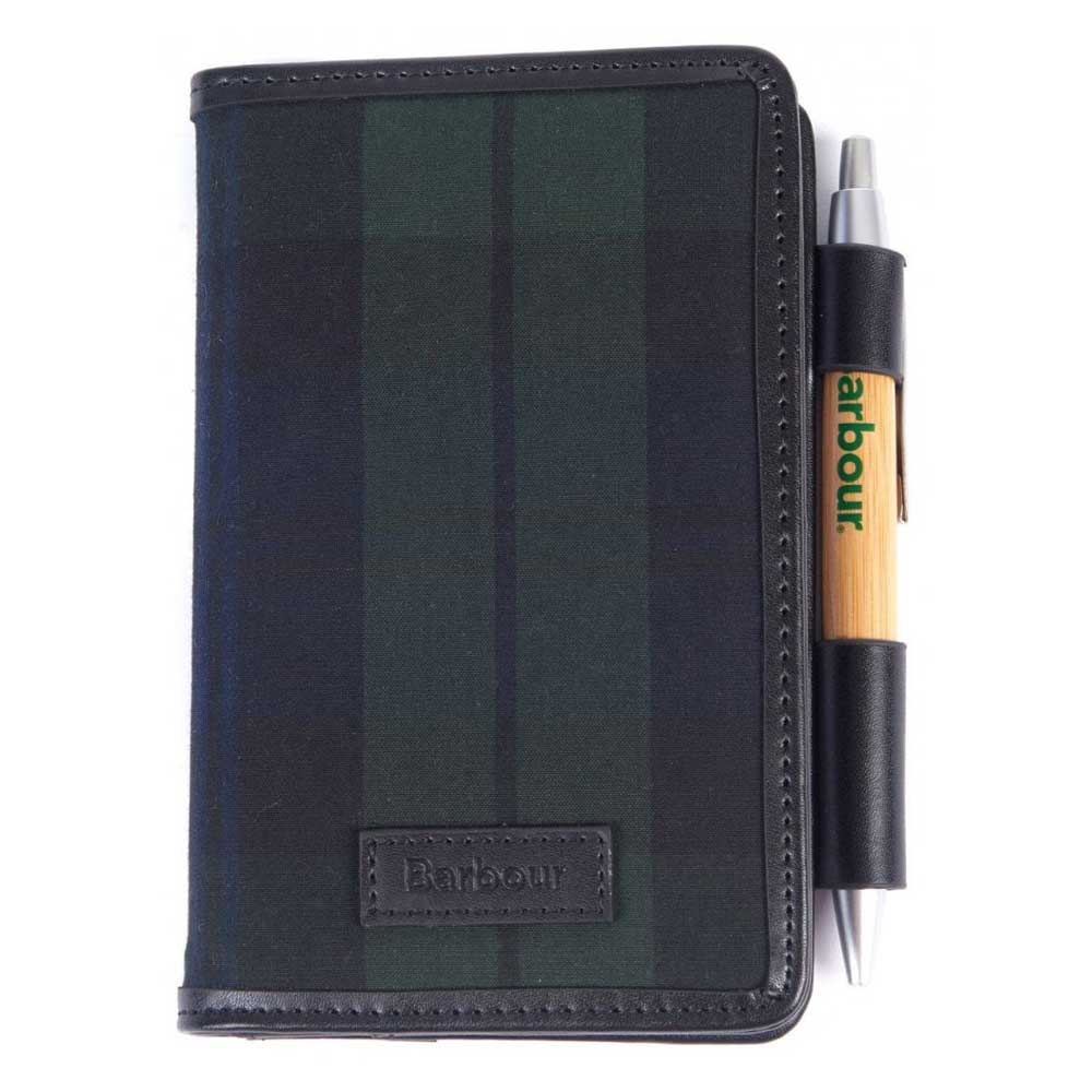 Barbour Drywax Organiser Black Watch Tartan