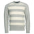 Barbour Elver Cable Crew Sweater Ecru Marl