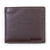 Barbour Elvington Billfold / Coin Pocket Leather Wallet Brown / Tan