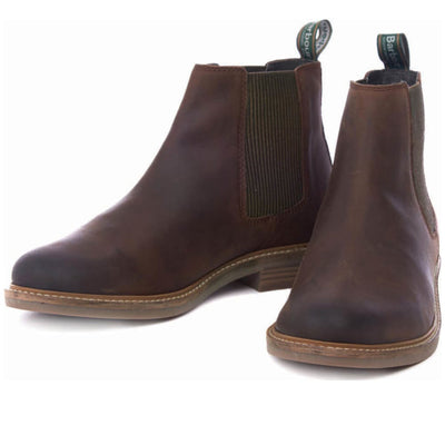 Barbour Farsley Chelsea Boots Chocolate