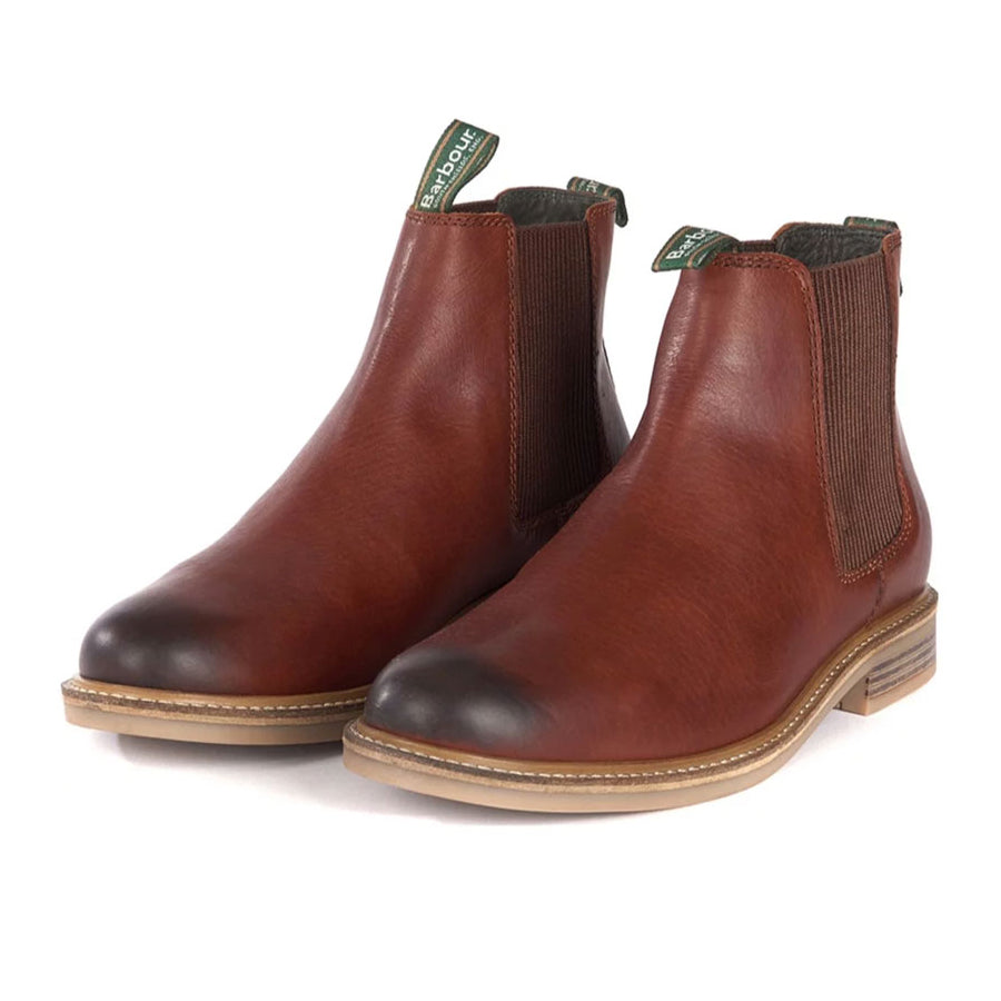 Barbour Farsley Chelsea Boots Chestnut
