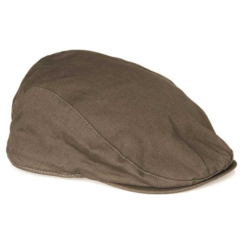 Barbour Men's Finnean Flat Cap Olive