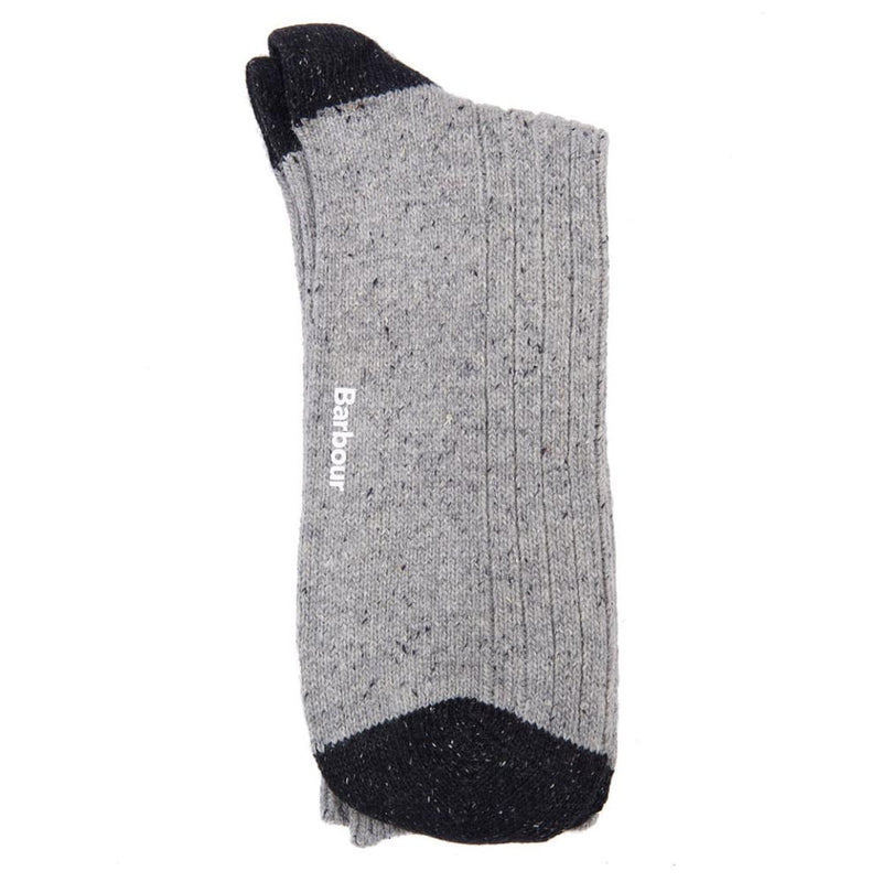 Barbour Houghton Socks Grey Black