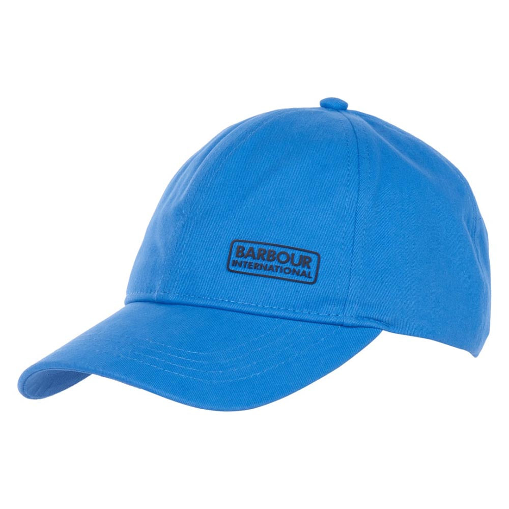Barbour International Norton Drill Baseball Cap Pure Blue