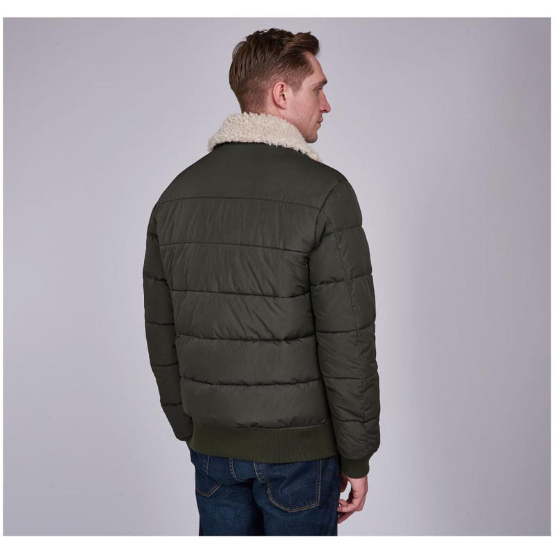 Barbour International Steve McQueen Java Quilted Jacket Sage