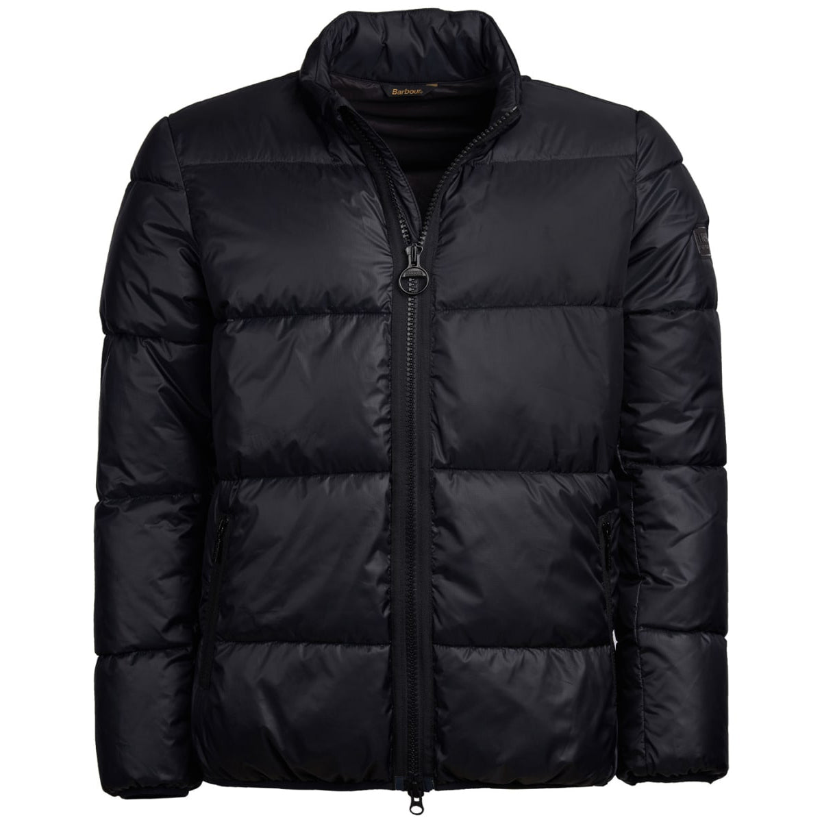 Barbour International Act Quilted Jacket Black