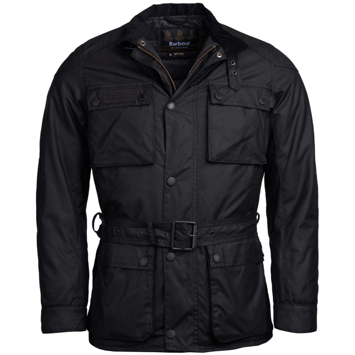 Barbour International Blackwell Waxed Jacket Black