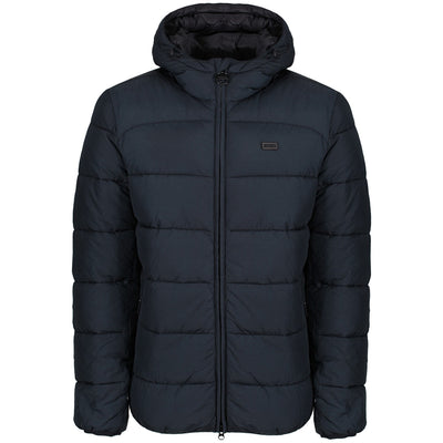 Barbour International Court Quilted Jacket Navy