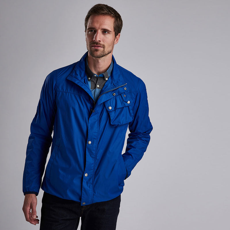 Barbour International Dene Casual Jacket Charge Blue