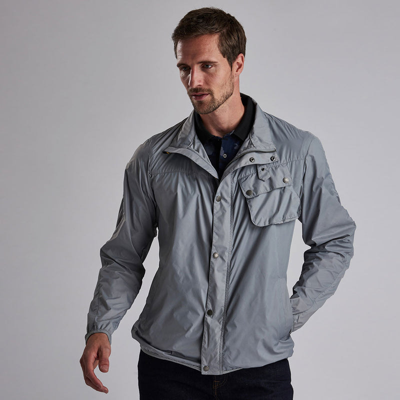 Barbour International Dene Casual Jacket Soft Grey