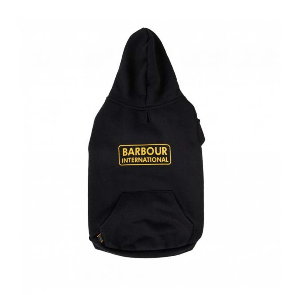 Barbour International Hooded Hoodie Dog Coat Black