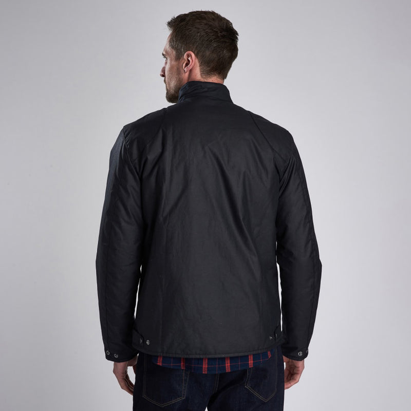 Barbour International Ducal Waxed Jacket Navy