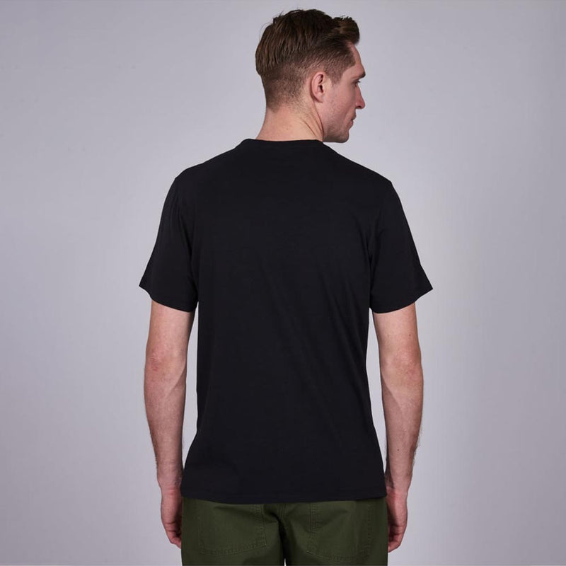 Barbour International Heritage T-Shirt Black