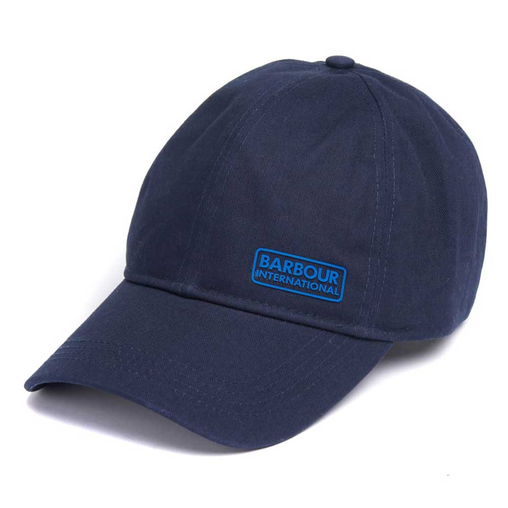 Barbour International Norton Drill Baseball Cap Navy