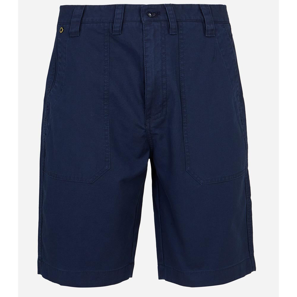 Barbour International Patch Pocket Shorts Navy