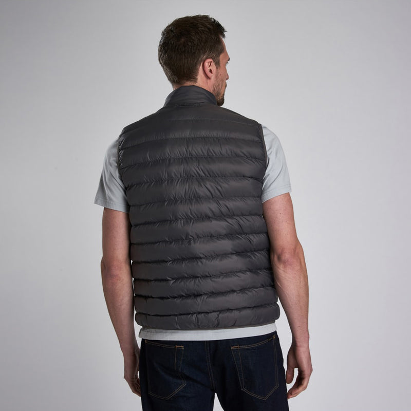 Barbour International Reed Gilet Charcoal