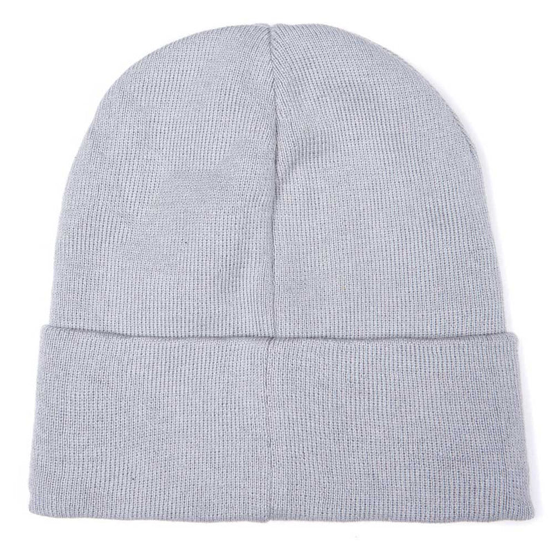 Barbour International Sensor Knit Beanie Winter Grey