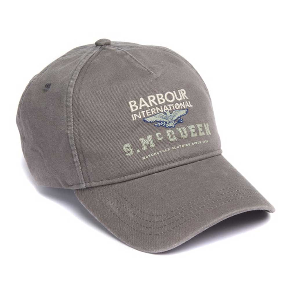 Barbour International Steve McQueen Relay Sports Cap Olive