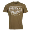 Barbour International Steve McQueen Eagle T-Shirt Beech Olive
