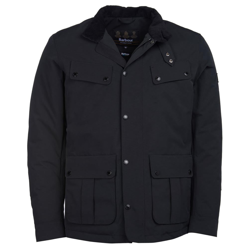 Barbour International Waterproof Duke Jacket Black