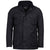 Barbour International Winter Lockseam Wax Jacket Black