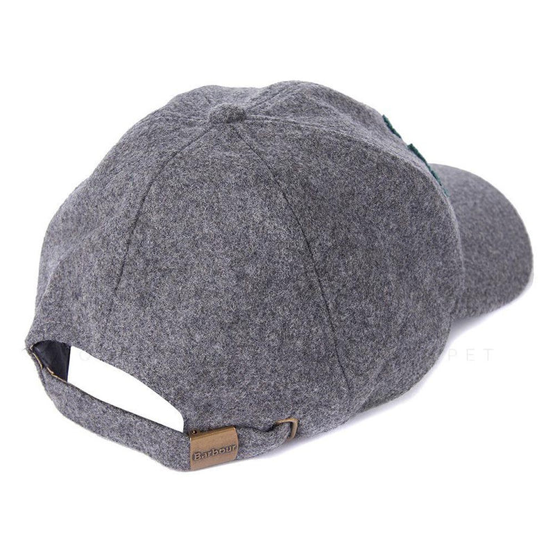 Barbour Lanton Sports Cap Grey Seaweed