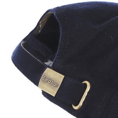 Barbour Lanton Sports Cap Navy Orange