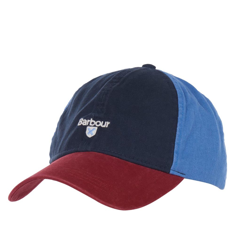 Barbour Mens Laytham Sports Cap Navy / Red