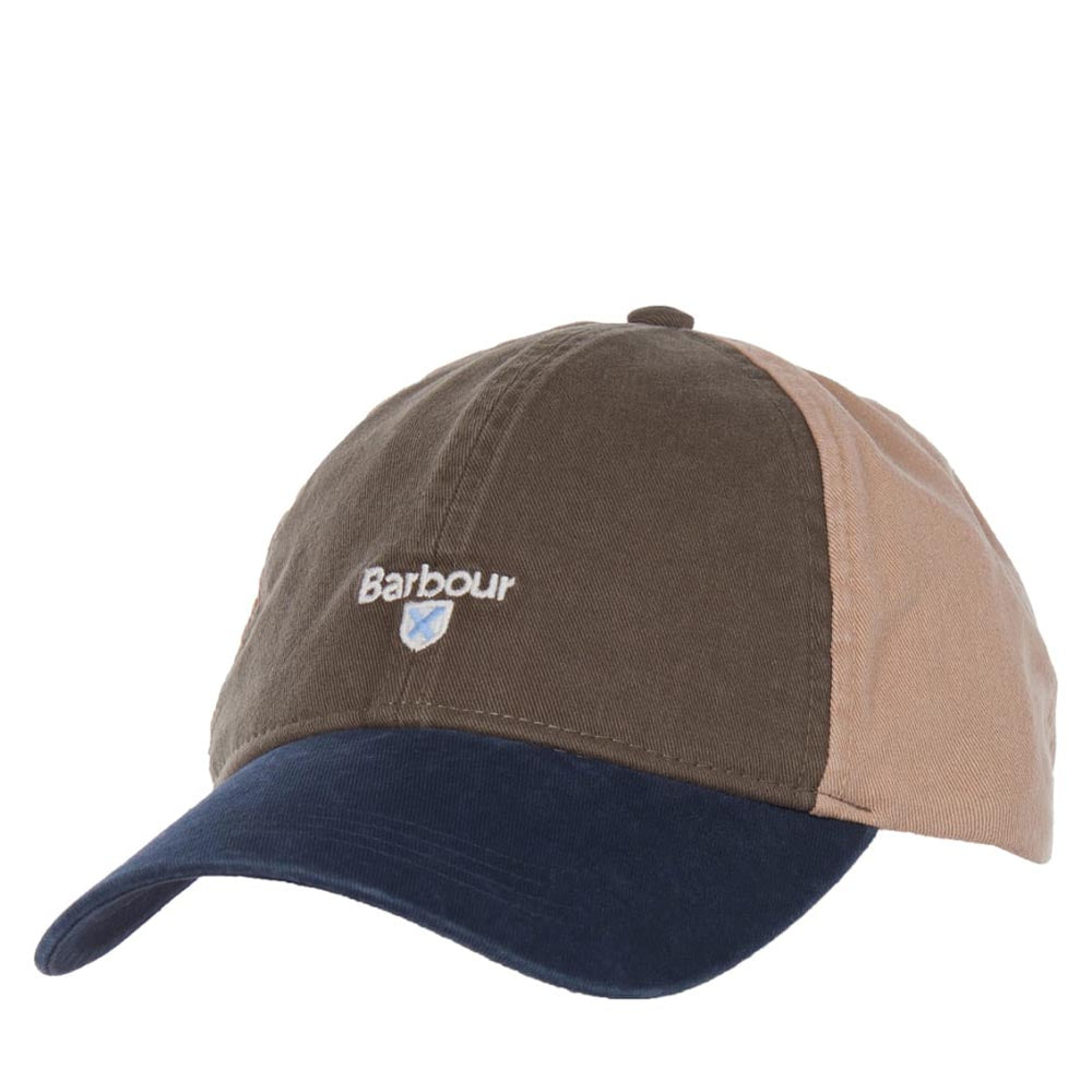 Barbour Mens Laytham Sports Cap Olive / Navy