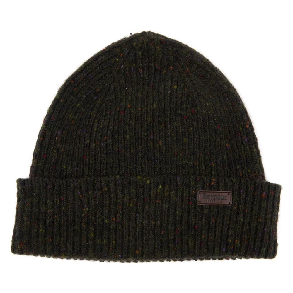 Barbour Lowerfell Donegal Beanie Dark Green