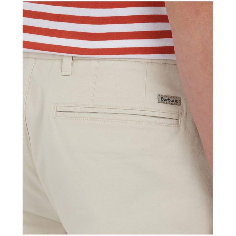Barbour Men's Neuston Essential Chinos Ecru