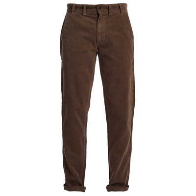 Barbour Men's Neuston Stretch Cord Trousers Fossil