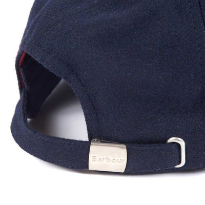 Barbour Prep Logo Wool Sports Cap Navy