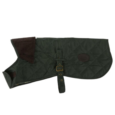 Barbour Quilted Dog Coat Olive