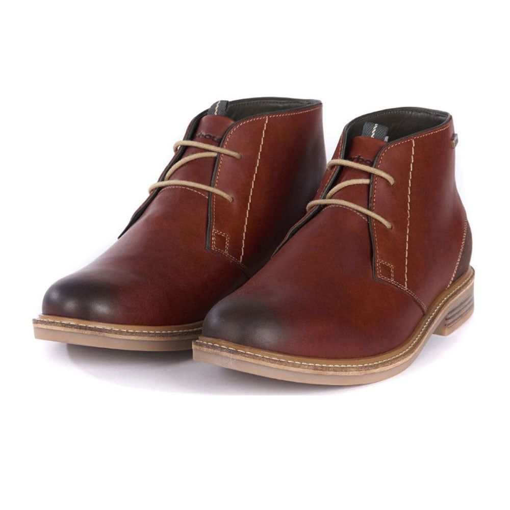 Barbour Readhead Boots Chestnut