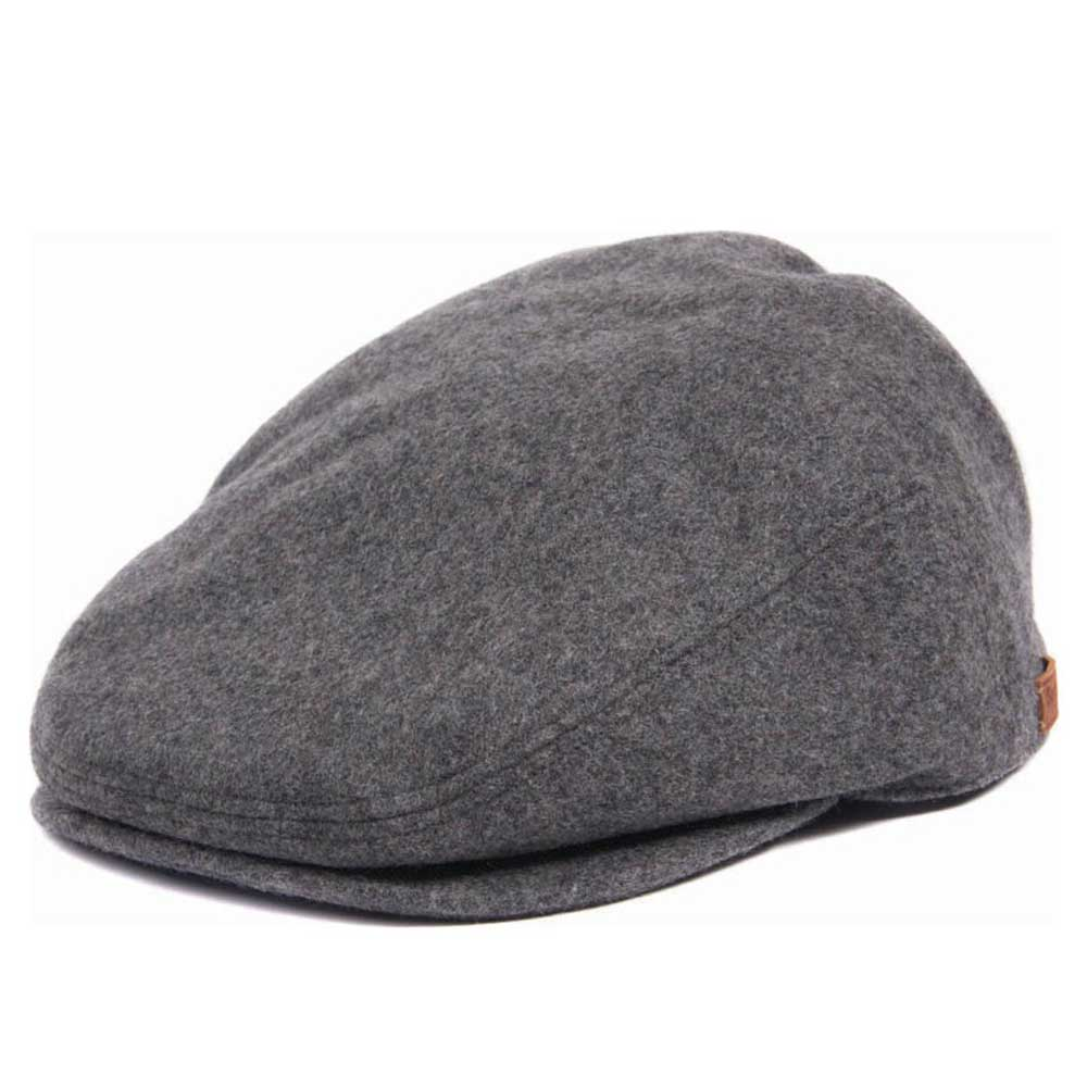 Barbour Redshore Flat Cap Grey