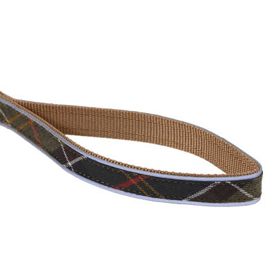 Barbour Reflective Dog Lead Classic Tartan