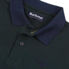 Barbour Sports Short Sleeve Mix Polo Shirt Seaweed Green