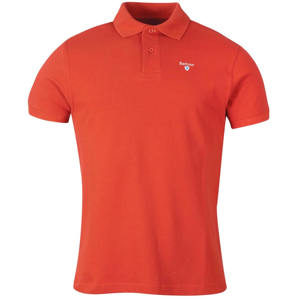 Barbour Men's Barbour Sports Polo 215G Paprika
