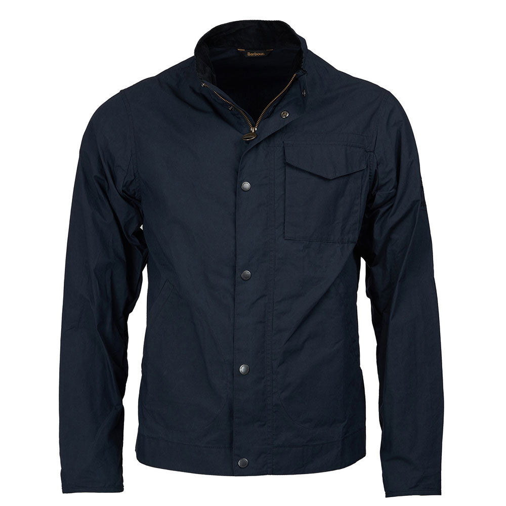 Barbour Steve McQueen Mens Major Lightweight Casual Navy Jacket