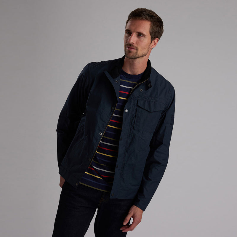Barbour Steve McQueen Major Casual Jacket Vulcan Navy