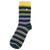 Barbour Tartan Stripe Socks Seaweed