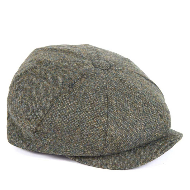 Barbour Thorne Wool Bakerboy Cap Olive