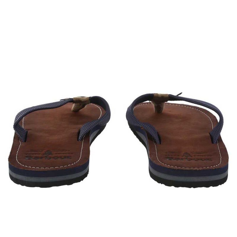 Barbour Men's Toeman Beach Sandals Navy