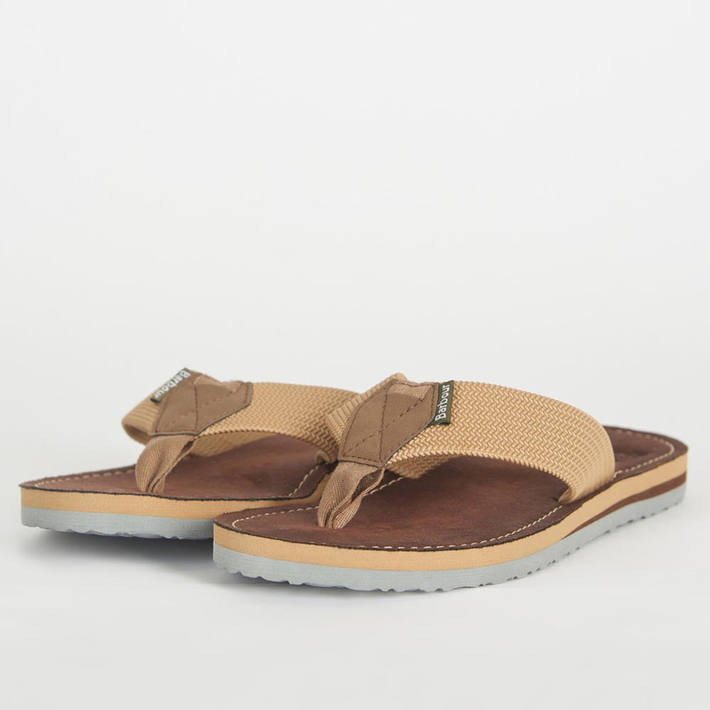 Barbour Men's Toeman Beach Sandals Sand