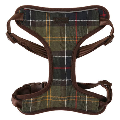 Barbour Travel and Exercise Dog Harness Classic Tartan