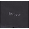 Barbour Wax Cotton and Leather Briefcase Black