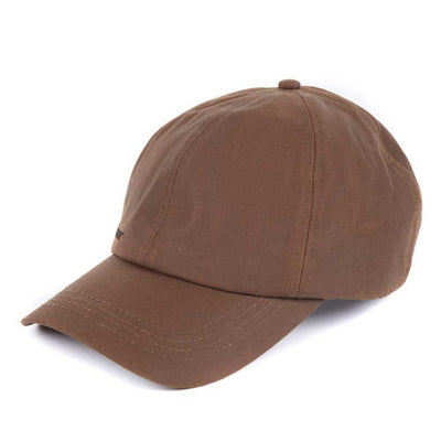 Barbour Mens Wax Sports Cap Bark