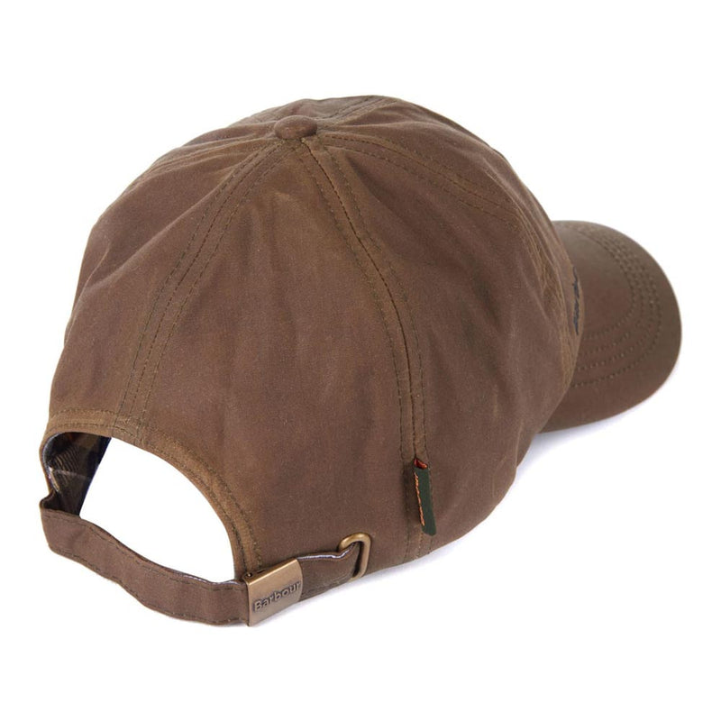 Barbour Mens Wax Sports Cap Brown
