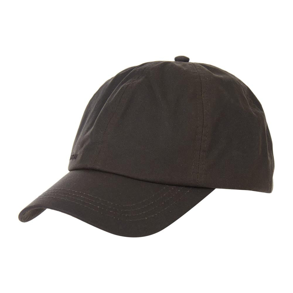 Barbour Mens Wax Sports Cap Olive Seaweed